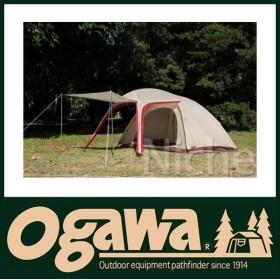 オガワキャンパル ( ogawa ) ステイシーネスト (クリーム×レッド)  2617 キャンプ用品