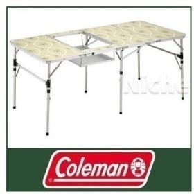 キャッシュレスポイント還元 Coleman コールマン スリム四折BBQテーブル  170-7638 キャンプ用品 アウトドア用品