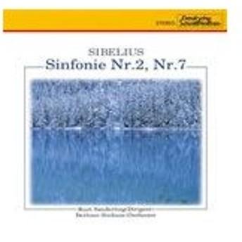 シベリウス:交響曲第2番、第7番/ザンデルリング(クルト),ベルリン交響楽団[CD]【返品種別A】