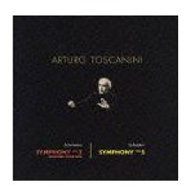 アルトゥーロ・トスカニーニ (指揮)/シューマン: 交響曲第3番「ライン」/シューベルト: 交響曲第5番 [限定盤]