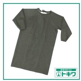 TRUSCO パイク溶接保護具 袖付前掛け Lサイズ PYR-SMK-L ( PYRSMKL )