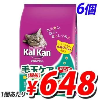 カルカンドライ 毛玉ケア かつおとチキン味 1.6kg×6袋 キャットフード ペットフード ドライフード 猫用