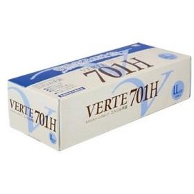 ニトリル使い捨て手袋 厚手 粉なし ミドリ安全 VERTE-701H-LL