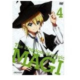 マギ The kingdom of magic 4(通常版)/アニメーション[DVD]【返品種別A】