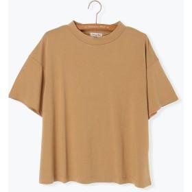 Tシャツ - Samansa Mos2 バイオウォッシュスタンドネックTシャツ