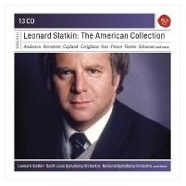 Box Set Classical / レナード・スラトキン/アメリカ音楽録音集(13CD) 輸入盤 〔CD〕