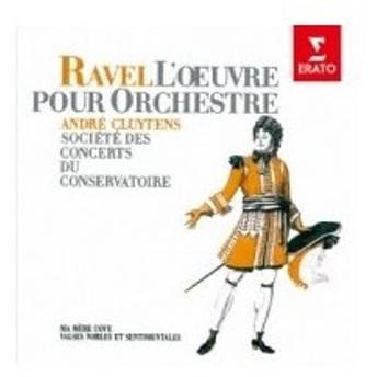 Ravel ラベル / Ma Mere L'oye:  Cluytens  /  Paris Conservatory O 国内盤 〔CD〕