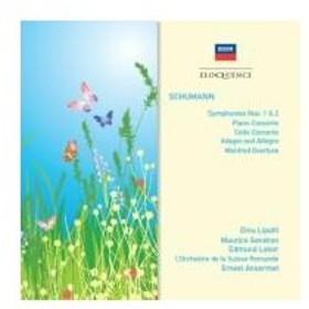 Schumann シューマン / 交響曲第1番、第2番、ピアノ協奏曲、チェロ協奏曲、他 アンセルメ&スイス・ロマン