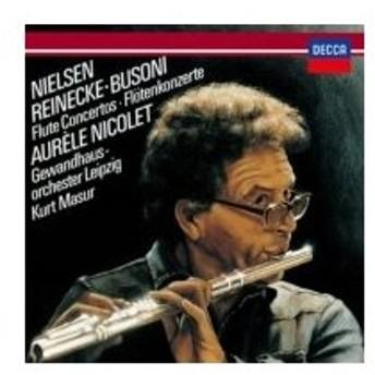 Nielsen ニールセン / ニールセン:フルート協奏曲、ブゾーニ:ディヴェルティメント、ライネッケ:フルート