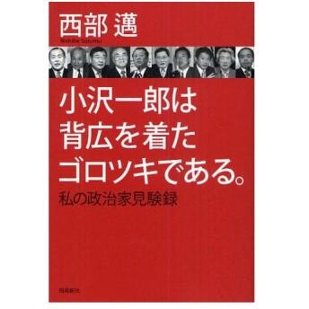 小沢一郎は背広を着たゴロツキである。 私の政治家見験録