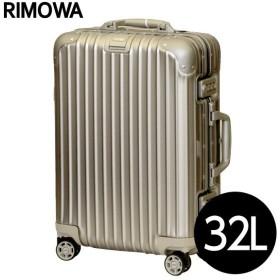 並行輸入品 RIMOWA TOPAS TITANIUM スーツケース 32L マルチホイール 923.52.03.4