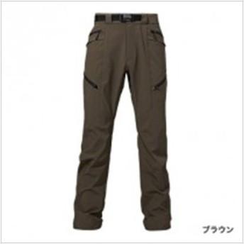 シマノ 防風ストレッチパンツPAー045N ブラウン L