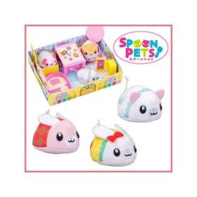 【セット商品】スプーンペット 文房具のお部屋+シンデレラ+白雪姫+アリス おもちゃ セガ・トイズ