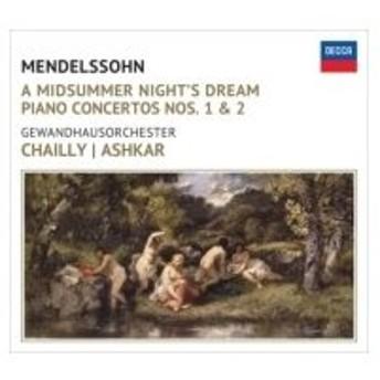 Mendelssohn メンデルスゾーン / 『真夏の夜の夢』より、『ルイ・ブラス』序曲(初版)、ピアノ協奏曲第1番、