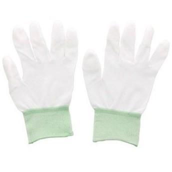 PUコートナイロン手袋(指先コート) アズワン M