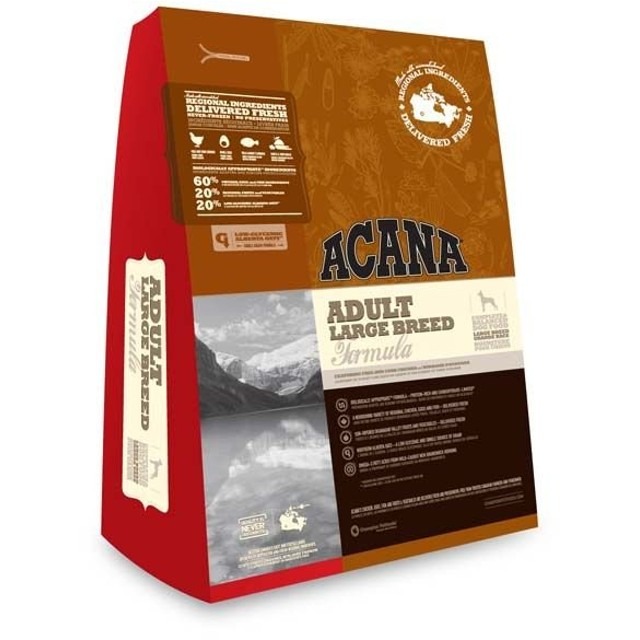 アダルトラージ 13kg アカナ (TP)(ACANA ドッグフード 犬 成犬用 アダルト ペットフード ドライフード)