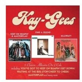 Kay-gees / Keep On Bumpin'  &  Masterplan  /  Find A Friend  /  Kilowatt (2CD) 輸入盤 〔CD〕