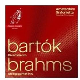 Brahms ブラームス / ブラームス:弦楽五重奏曲第2番(弦楽合奏版)、バルトーク:ディヴェルティメント カ