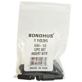 ボールポイント・ビットセット BONDHUS BIX12