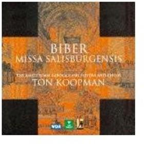 ビーバー:53声部の「ザルツブルク大聖堂ミサ曲」/コープマン(トン)[CD]【返品種別A】
