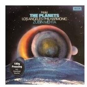 Holst ホルスト / 組曲「惑星」:ズービン・メータ指揮&ロサンジェルス・フィルハーモニー管弦楽団 (180グラ