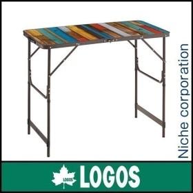 ロゴス テーブル グランベーシック 丸洗いカウンター アウトドア 机 調理台 高さ 切り替え