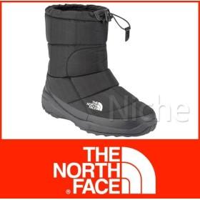 キャッシュレスポイント還元 THE NORTH FACE ザ・ノースフェイス ヌプシブーティ ウォータープルーフIV SE (ユニセックス) ブラックチェック NF51584-KC 防寒