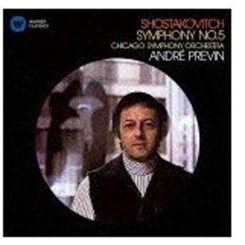 ショスタコーヴィチ:交響曲第5番/プレヴィン(アンドレ)[CD]【返品種別A】