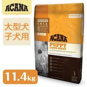 アカナ(ACANA) パピーラージブリード 11.4kg(大型犬用/子犬用(パピー)/穀物不使用(グレインフリー)/ドライフード/ペットフード/送料無料)