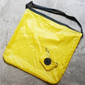 フェアウェザー FAIRWEATHER packable sacoche yellow パッカブルサコッシュ