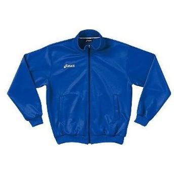 アシックス asics トレーニングジャケット xat171 カラー:ブルー 45 training suit ウェア