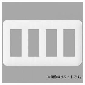 パナソニック コンセントプレート 4連用 12コ用 ラウンド ベージュ WTF7012F