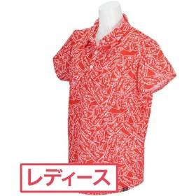 ニューバランス New Balance METRO タギングシューズプリント半袖共衿ポロシャツ レディス