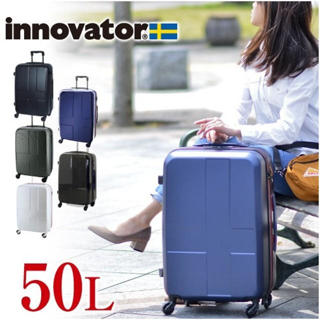 00ea1a0a2e スーツケース キャリー ハード 旅行 イノベーター innovator 50L 中型 3泊〜5泊程度 メンズ