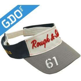 ラフ&スウェル rough&swell 61 サンバイザー RSA-16003 帽子