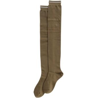 マンシングウェア Munsingwear ゴルフウェア レディス 靴下 ハイソックス AL0166 靴下