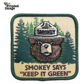 エイアンドエフ A&F SMOKEY KEEP IT GREEN パッチ 11183001000004