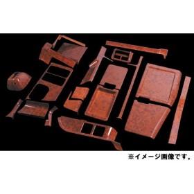 JETイノウエ インテリア3Dパネル センターコンソール20点セット ふそう 大型 スーパーグレート 木目調 595431