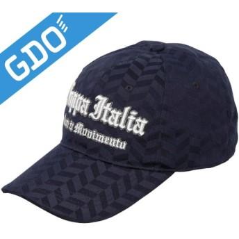 カッパ Kappa ゴルフウェア メンズ 帽子 ヘリンボンジャガードロゴキャップ KG518HW11 帽子