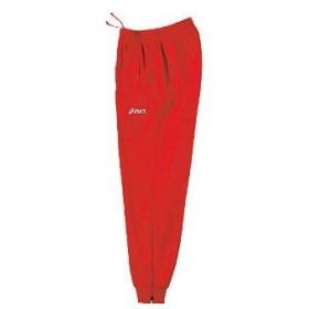 アシックス asics トレーニングパンツ ホッピング xat271 カラー:レッド 23 training suit ウェア