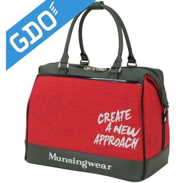 マンシングウェア Munsingwear ボストンバッグ MQ2185 ボストンバッグ