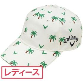 キャロウェイゴルフ Callaway Golf ゴルフウェア レディス 帽子 シーズンモチーフ総刺繍キャップ 241-184954 帽子