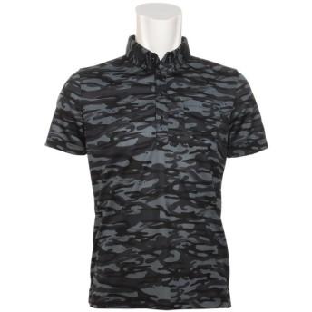 プーマ PUMA オーシャンカモフラージュ 半袖ボタンダウン ポロシャツ 923293 半袖シャツ・ポロシャツ
