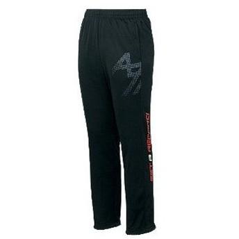 アシックス asics トレーニングパンツ xat800 カラー:ブラックa 90a general athletic ウェア