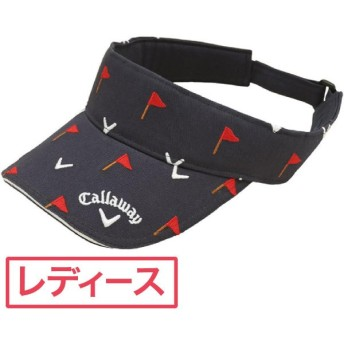 キャロウェイゴルフ Callaway Golf ゴルフウェア レディス 帽子 シーズンモチーフ総刺繍バイザー 241-184955 帽子