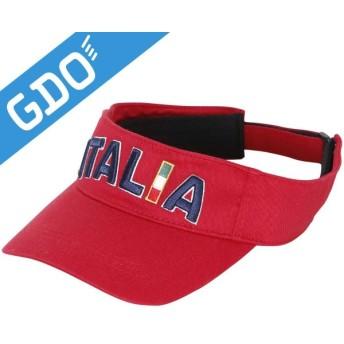 カッパ Kappa ITALIA ロゴサンバイザー KG618HW53 帽子