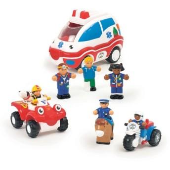 50%OFF vic2セール ワオトイ WOW Toys エマージェンシー レスキュー3in1マルチパック キッズ ベビー おもちゃ TYWT80026
