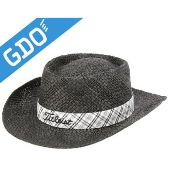 タイトリスト TITLEIST ゴルフウェア メンズ レディス 帽子 ストローハット HJ4HST 帽子