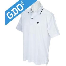ブリヂストン TOURSTAGE ブライトジャガード衿柄半袖ポロシャツ FTM06A 半袖シャツ・ポロシャツ