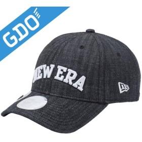 ニューエラ ゴルフライン 920 ONPAR デニムへリンボン マーカー付きキャップ 帽子